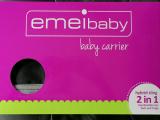 emeibaby easy Trage org. grau